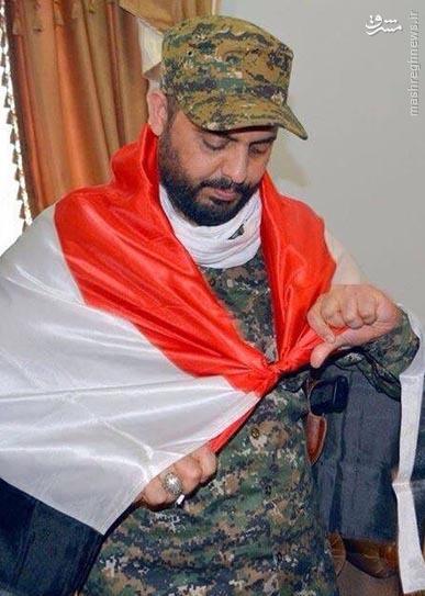 عکس/مدافعی که قبرش را قبل از شهادت آماده کرده است