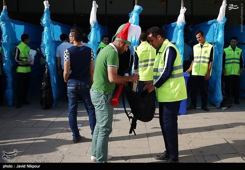 عکس/بدسلیقگی مسئولان استادیو آزادی