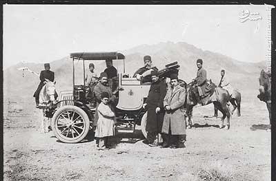 عکس/ نخستین اتومبیل وارد شده به ایران