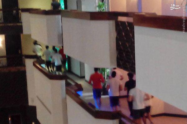 عکس/ تمرین عجیب پرسپولیسیها در هتل