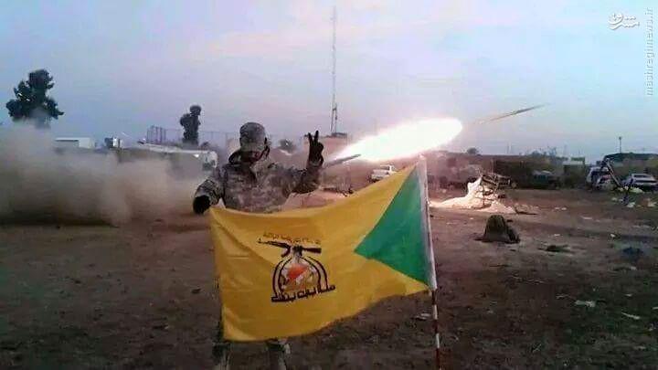 اسارت 700 داعشی توسط رزمندگان حزب الله عراق