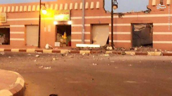 موشکباران کوبنده شهرهای آل سعود+تصاویر