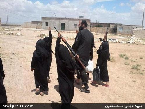 دختربچههای داعشی+عکس