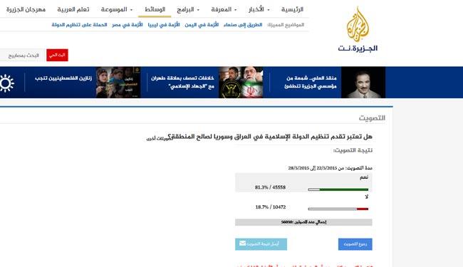 تبلیغ تلویزیونی برای داعش + عکس