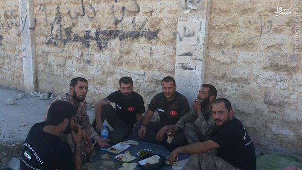 یگان ویژه تروریستهای تبعه ترکیه در سوریه!