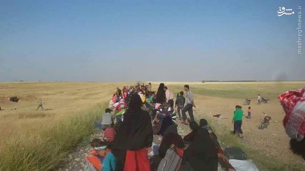 حملات تجزیه طلبان کرد به اعراب استان حسکه سوریه