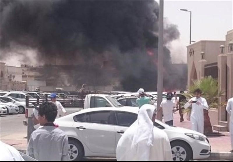 انفجار در مسجد امام حسین (ع) در دمام عربستان+ تصاویر