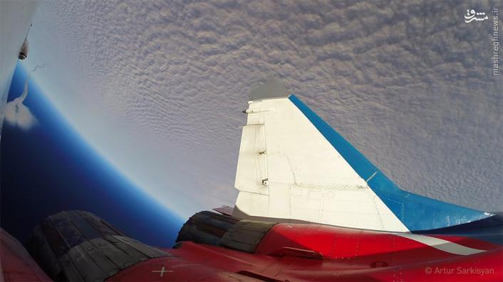 عکس/ سفر به جو زمین با میگ 29