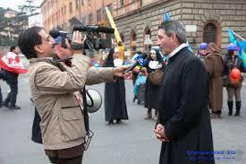 مراسم تجلیل از حمید معصومینژاد در رم