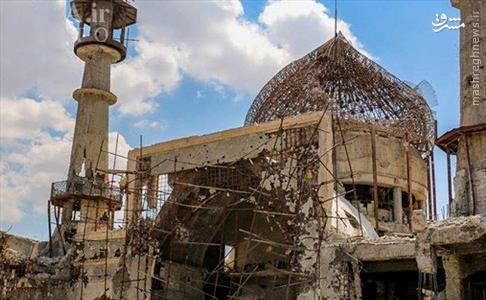 تصویر جدید حرم حضرت سکینه (س) در سوریه