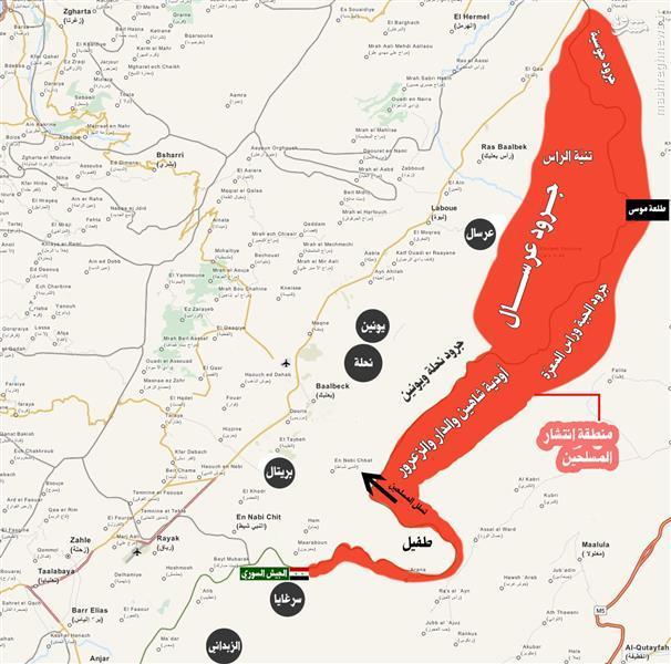 کشته شدن تروریستهای النصره در کمین ارتش لبنان+تصاویر