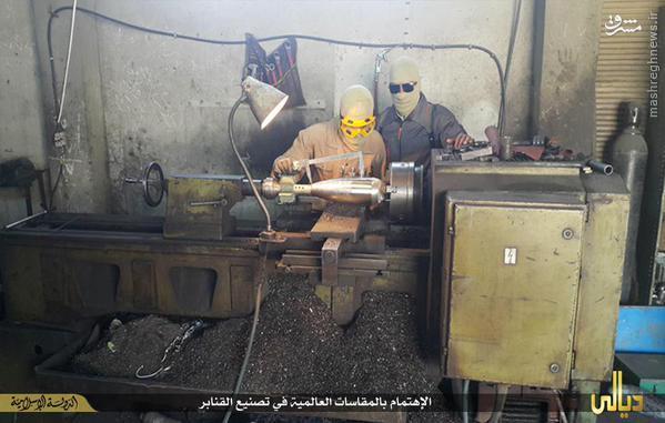 کارگاه ساخت خمپاره و بمب داعش در دیالی+تصاویر