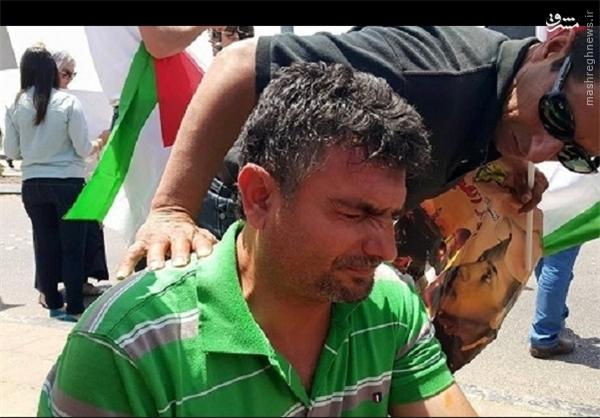 مجروحیت چندین خبرنگار در حمله نظامیان صهیونیست+تصاویر