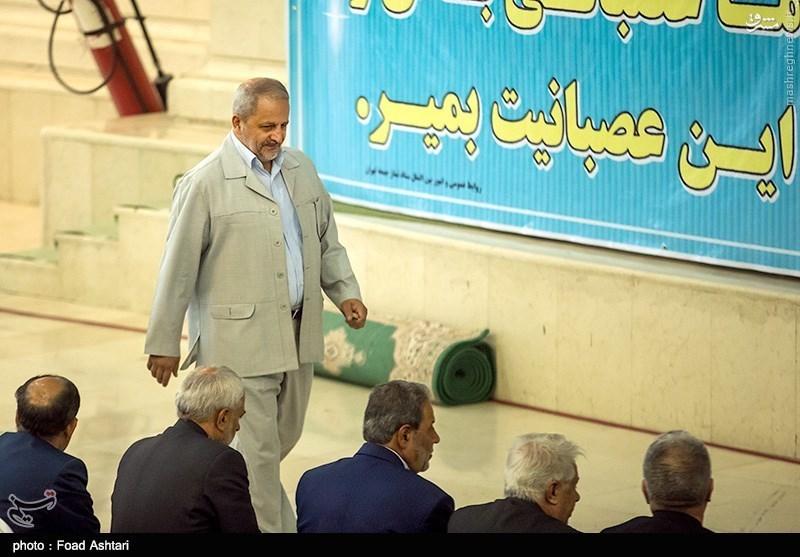 عکس/ تیپ سردار احمدی مقدم با لباس شخصی