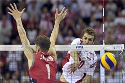 پیروزی نزدیک لهستان برابر آمریکا/ ایران از صعود به فینال بازماند +جدول