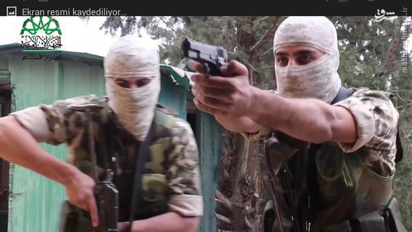 پادگان آموزشی احرارالشام در غوطه شرقی دمشق+تصاویر