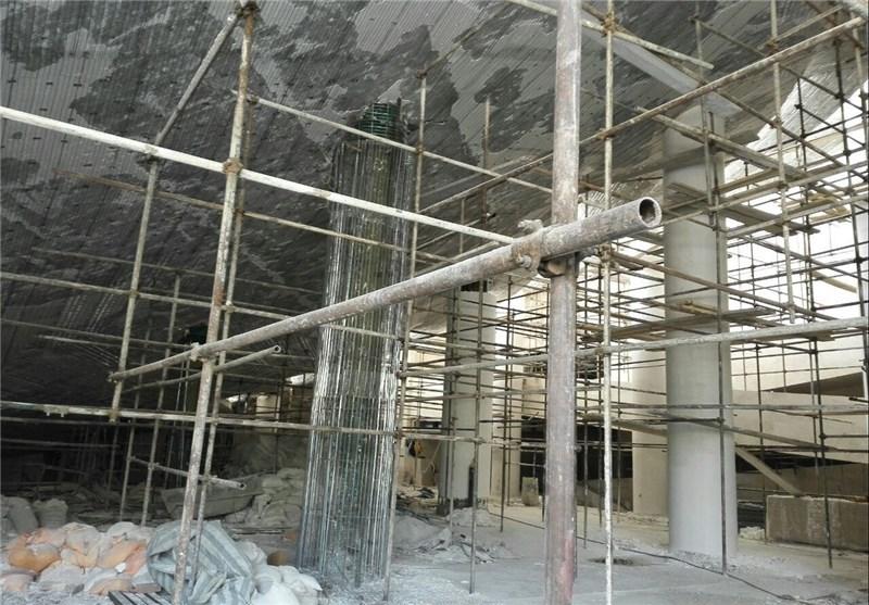 توقف ادامه ساخت مسجد ۵۰ میلیارد تومانی بدون گنبد و مناره