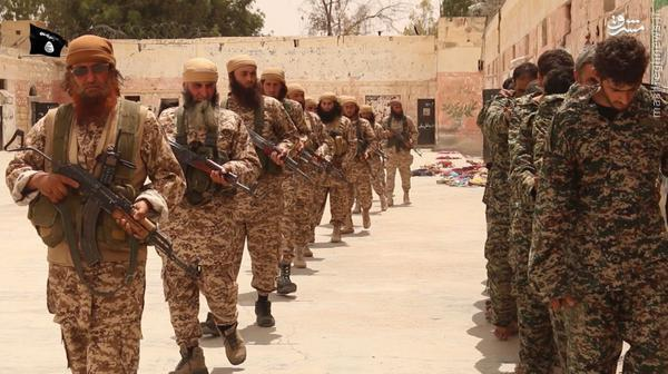 اعدام 25 اسیر ارتش سوریه در محوطه تاریخی تدمر توسط داعش+تصاویر