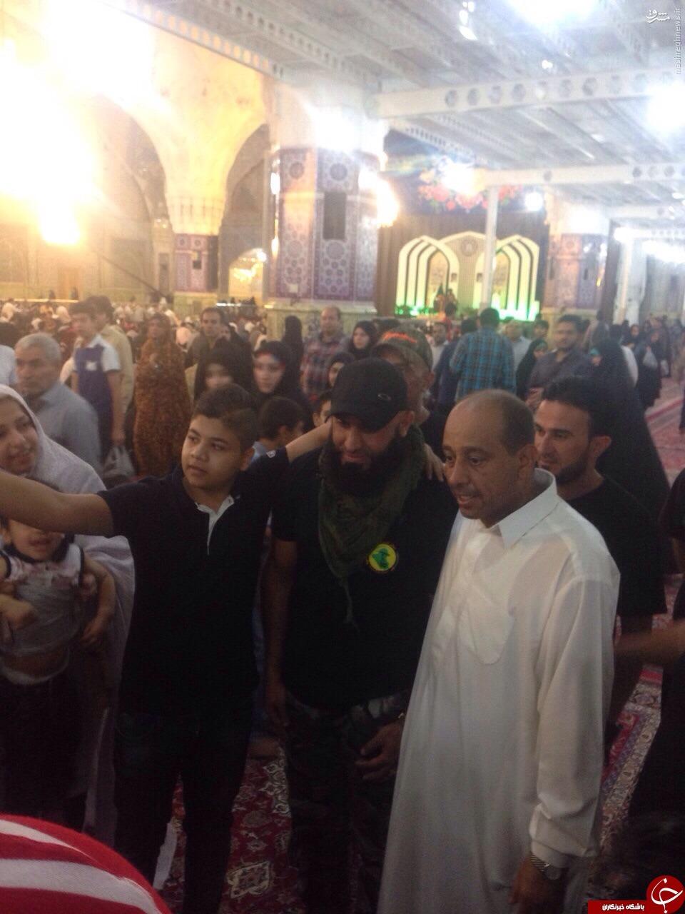 ابوعزرائیل در مشهد /عکس