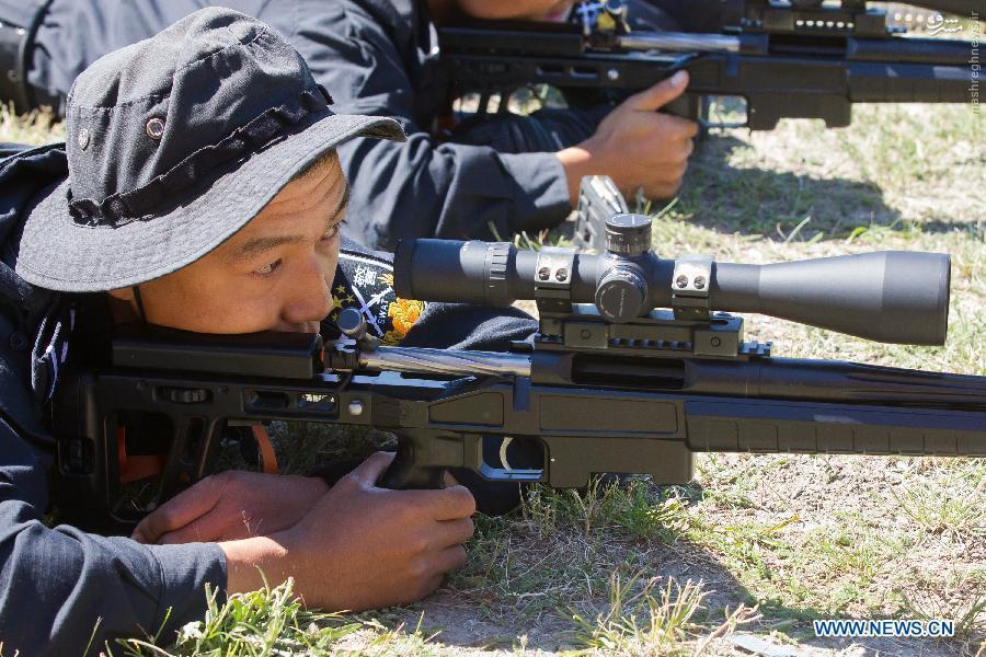 عکس/ سلاح جدید تک تیرانداز جدید چینی ها