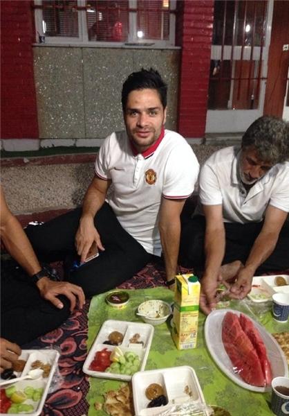 ضیافت افطاری که برانکو برگزار کرد + تصاویر