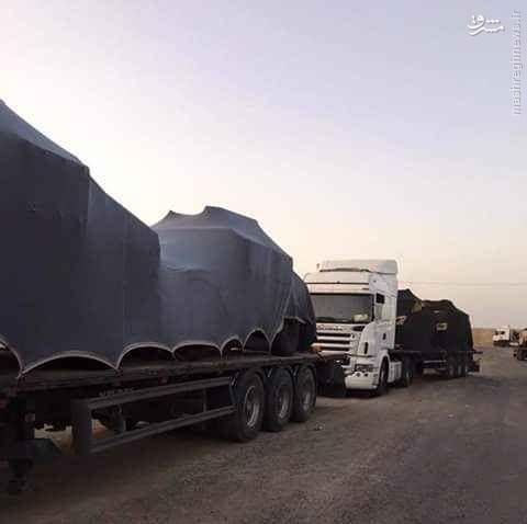 تحویل 70 دستگاه خودروی زرهی جدید به عراق+تصاویر