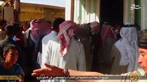 لوازم خانگی مسروقه ذکات داعش به فقرا+تصاویر