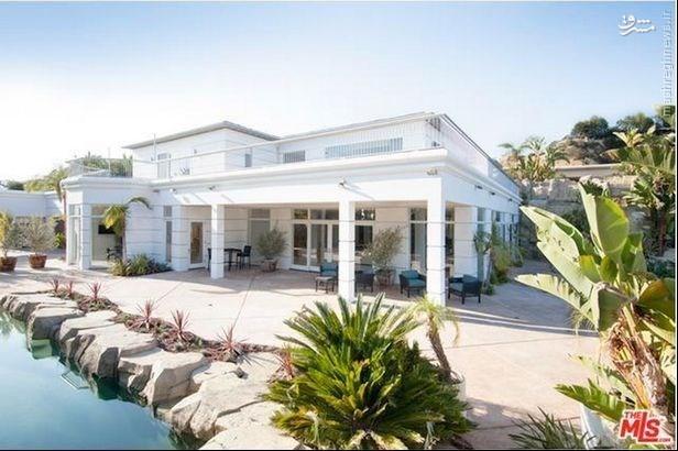 خانه مجلل جرارد در لس آنجلس + تصاویر