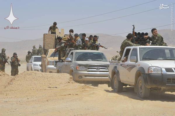 عملیات وسیع ارتش سوریه برای بازپس گیری تدمر/نبردهای شدید در محور غربی شهر/150 کشته و مجروح داعش در نبردهای شدید تدمر
