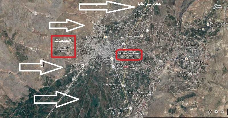 عملیات وسیع ارتش سوریه برای بازپس گیری تدمر/ادامه نبردها در زبدانی/انهدام مقر فرماندهی احرار الشام در زبدانی/در دست ویرایش