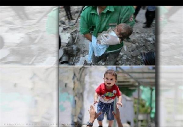نوزاد غزهای که اشغالگری اسرائیل را به چالش کشید+تصویر