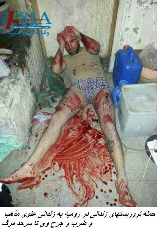 بحران در لبنان در پی انتشار تصاویر شکنجه تروریستها در زندان رومیه+عکس و فیلم