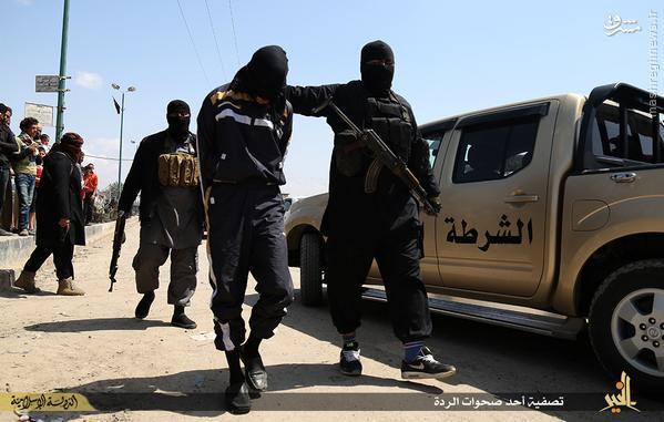 اعدام مرد سوری توسط داعش+تصاویر
