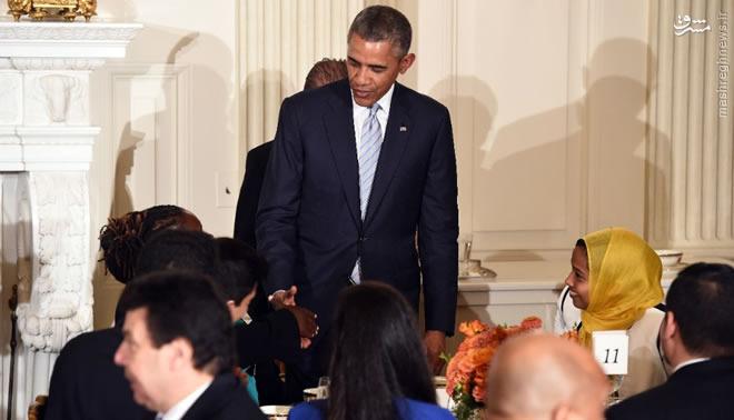 مراسم افطاری اوباما در کاخ سفید+ تصاویر