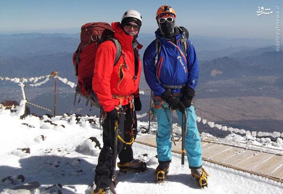 من و بلندترین قله ژاپن، یهویی