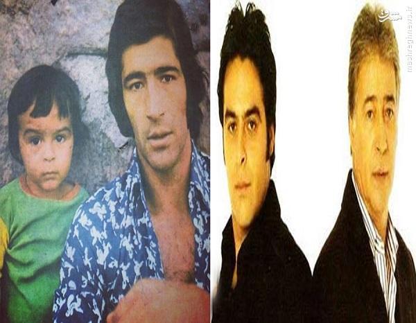 عکس/ آتیلا و ناصر حجازی در گذر رمان