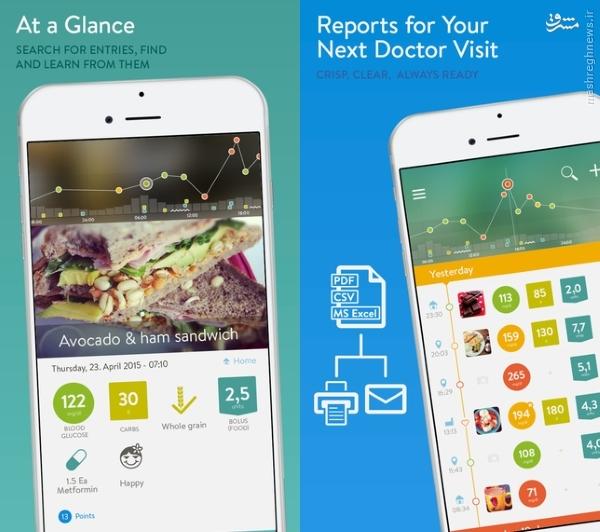 اپلیکیشنی برای کمک بهبیماران دیابتی