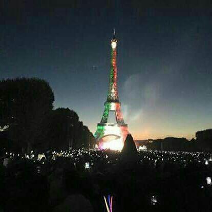 جشن ایفل برای ایران هسته ای یا برای مکزیک؟ +عکس