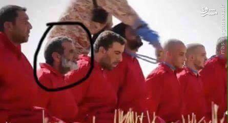 اعدام یک نفر به دو روش توسط داعش+تصاویر