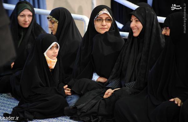عکس/ آرمیتا در دیدار رهبری در عید فطر
