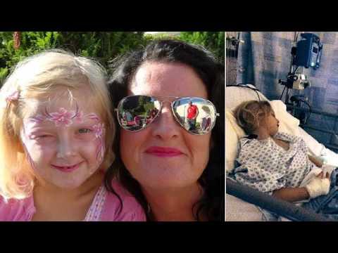 دختری با سخت ترین نواقص مادرزادی + تصاویر