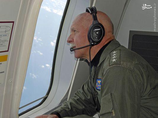حضور آدمیرال آمریکایی در عملیات شناسایی+عکس