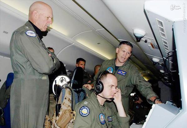 حضور آدمیرال آمریکایی در پرواز جنجالی+عکس