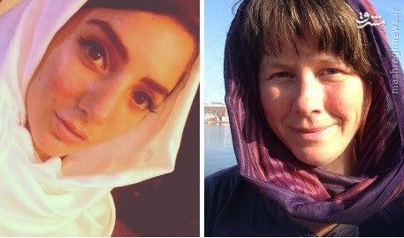 حجاب زنان سوئدی در دفاع از زنان محجبه +عکس