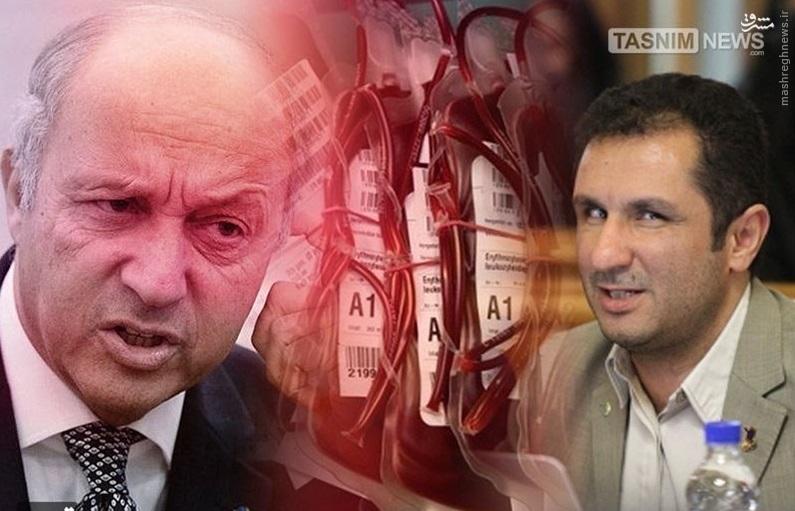 فابیوس برای پرداخت غرامت خونهای آلوده به ایران میآید؟