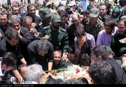 شهادت مدافع ایرانی حرم حضرت زینب+تصاویر