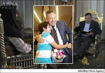 آزادی خبرنگاری که با رهبر جبهه النصره مصاحبه کرد + عکس