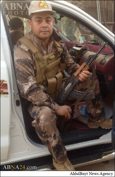 شهادت جوان ایرانی در نبرد با داعش در عراق+عکس