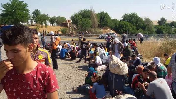 فرار دسته جمعی یزیدیها از کمپ آوارگان ترکیه+تصاویر