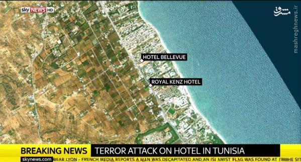 رونمایی داعش از عامل حمله به هتل امپریال تونس+تصاویر
